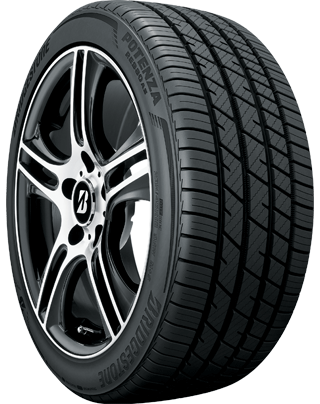 Bridgestone Potenza RE980AS Angle view