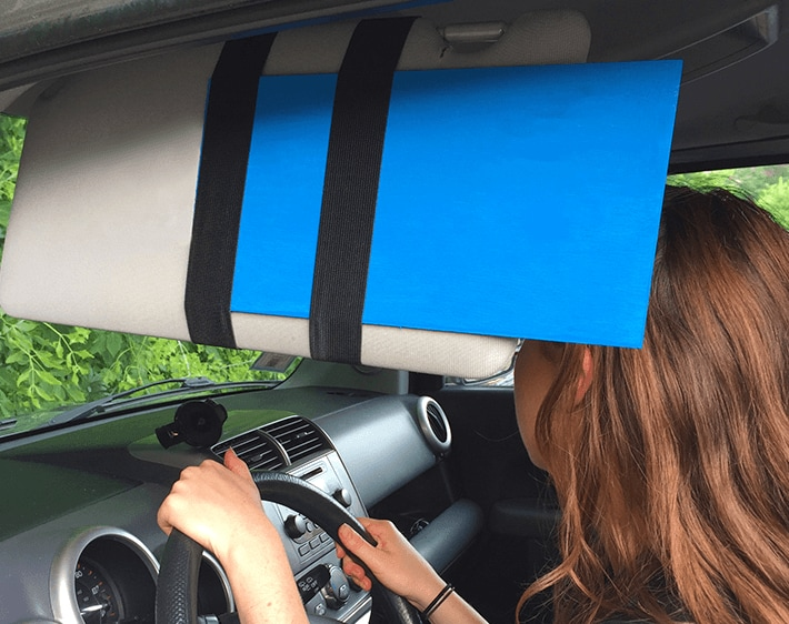 How To: Make a Car Sun Visor Extender