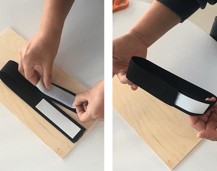 Step 2 - Make your own car sun visor extender