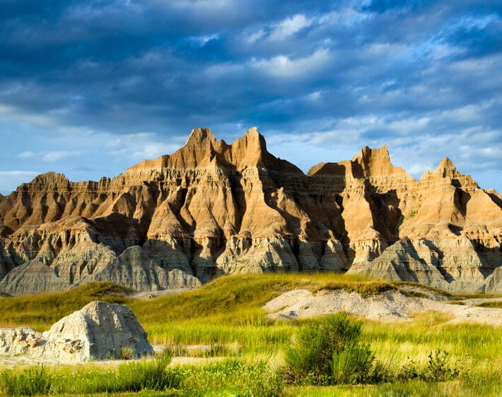 badlands national monument south dakota