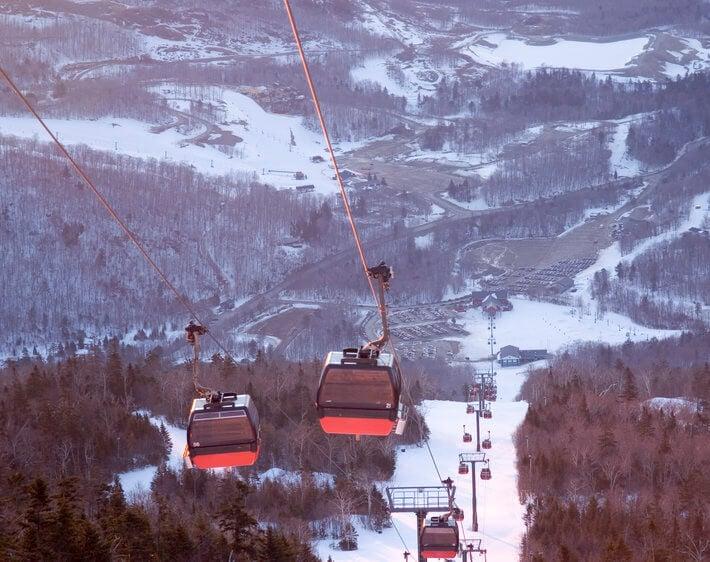 Vermont ski lift